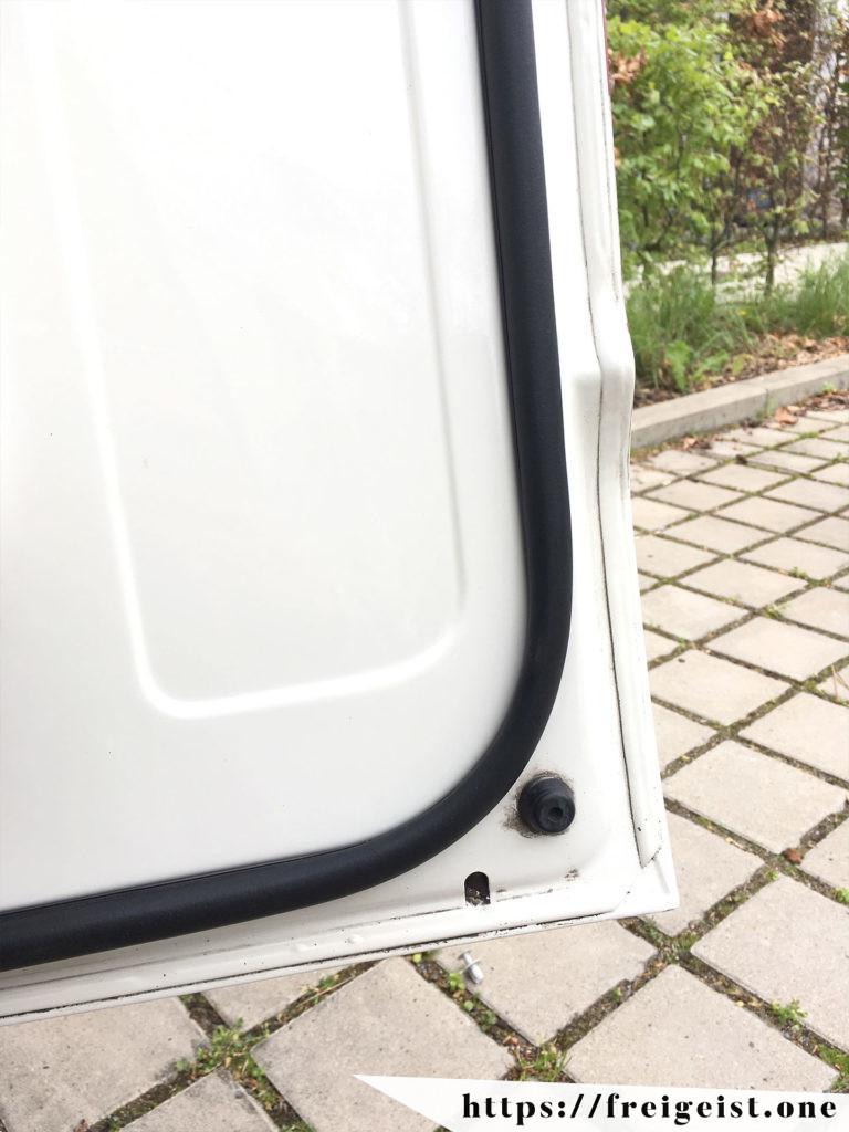 freigeist - VW T5 - zusätzliche Dichtung Tür