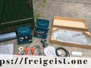 freigeist - VW T5 Fenstereinbau - benötigtes Werkzeug